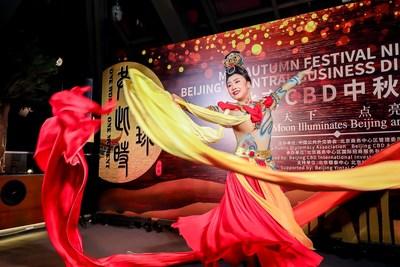Danza: Apsarás voladoras (PRNewsfoto/Beijing CBD International Investment Promotion Co., Ltd.)